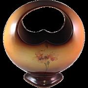 Vintage Warwick China IOGA Basket Vase