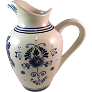 Vintage Delft Blue Creamer/Pitcher Made in Holland