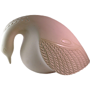 Rare France Fauteux Ceramic Dove Signed Sculpture - Red Tag Sale Item