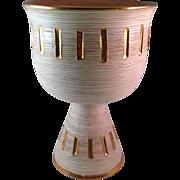Vintage Fratelli Fanciullacci Italian Pottery Chalice