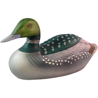 Vintage Made in Taiwan Porcelain Duck