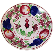 Antique Villeroy & Boch Hand Painted Bowl