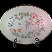 Vintage Gorham Chinoiserie Pattern Oval Serving Platter