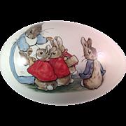 Beatrix Potter Wedgwood Peter Rabbit Porcelain Egg