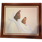 Ida Jackson Print on Canvas Mother and Child
