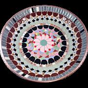 Israeli PM Mosaic Bowl on Copper