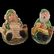 Studio O'Gamhna Handmade in Ireland Santa & His Helper