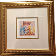 "Lucelle Raad Framed ""Our Secret"" Limited Edition"
