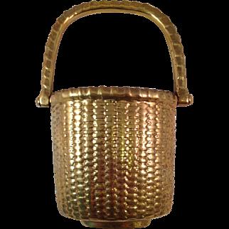 Solid Brass Nantucket Basket Doorknocker