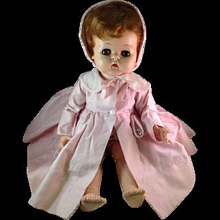 Effanbee Vintage 1950's Vinyl Baby Doll Original Coat
