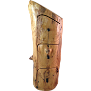 Hand Crafted Cedar 3-Drawer Dresser Box