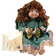 Goebel Betty Jane Carter Guardian Angel Porcelain Limited Edition Doll July