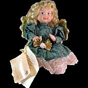 Goebel Betty Jane Carter Guardian Angel Porcelain Limited Edition Doll February