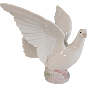 Lladro Taking Flight Porcelain Dove Statue Mint With Box #6288