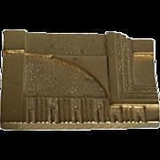 Architectural Brooch MMA Frank Lloyd Wright