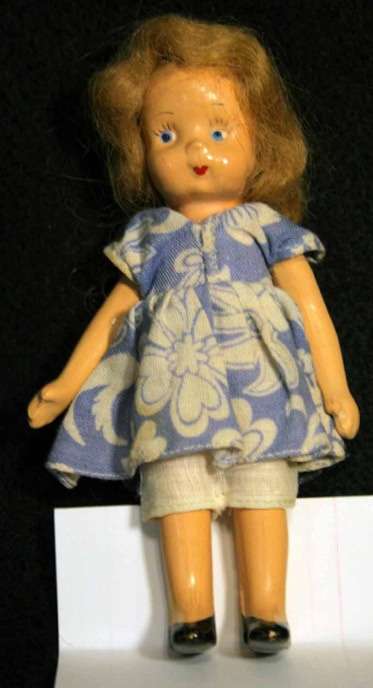Doll vintage 5 1 2 quot circa 1930s to early 1940 s from holichs dolls on