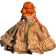 """Kerr & Heinz Painted Bisque Doll, 6 1/2"""" tall, Circa 1930's.  Story Book Type Unmarked"""