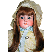 Armand Marseille Floradora A.M. 3 Antique German Bisque Doll 25""