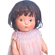 "Elite Composition Girl Doll 12"" Patsy Type"