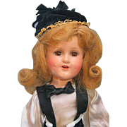 """Madame Alexander Sonja Henie Composition Doll 14"""" Tagged Outfit Original Pin"""