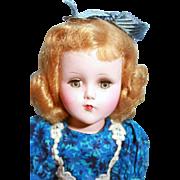 """Nanette doll in hard plastic by Arranbee 14"""""""