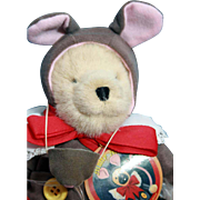 Muffy Bear dressed as 'Muffy Mouse', original design of North American Bear Co, limited edition from 1995.