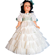 "Scarlett Composition Doll 18"" Madame Alexander"