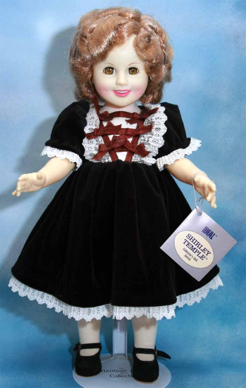 Shirley Temple Doll In Vinyl 16 Quot Tall Heidi From Ideal