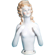 Half doll with arms away from body Unmarked