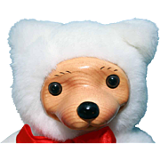 "Robert Raikes Alvin 11"" Bear 1993 Christmas Edition"