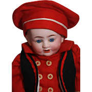 """Franz Schmidt German bisque Baby Boy 10"""", Marked 'Germany, F.S. & Co., 1255/25, Z, Deponiert'"""