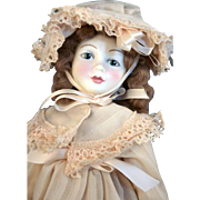 """Royal Doulton House of Nisbet Birthday doll Vera that is 11-1/2"""" tall  from England, limited edition, in good condition with box."""