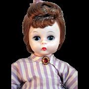 Alexander-kins bent knee non-walker Meg of Little Women doll by Madame Alexander 1965-1972 in good condition