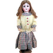 "Armand Marseille Queen Louise German bisque doll 23"" tall in good condition."