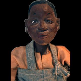 "Junior ""Daddy Long Legs"" cast-resin boy doll by artist Karen Germany, 15"" tall"