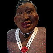 """Ms. Hattie """"Daddy Long Legs"""" cast-resin doll by artist Karen Germany, 20"""" tall"""