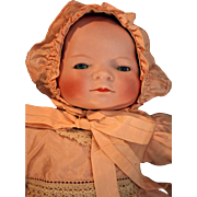 "Bisque head Bye-Lo baby doll designed by Grace S Putnam from 1923, 14"" long"