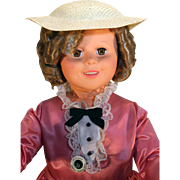 "Little Colonel Shirley Temple doll 36"" vinyl doll from 1984-1985, Dolls, Dreams and Love."