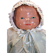 Vintage composition Bye-lo baby doll designed by Grace Putnam from circa 1924.