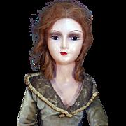 """Boudoir Doll 31"""" long from 1940's"""