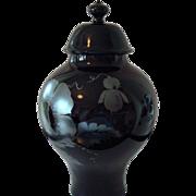 Artist Signed Fenton Art Glass Ginger Jar