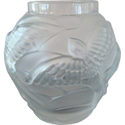 Frosted Art Glass Vase