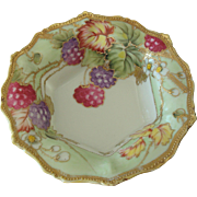 Gilt Nippon Berry Bowl Circa 1909-1921