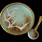Nippon Mayonnaise w/ Ladle - Swan Motif