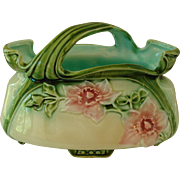 Small Majolica Basket