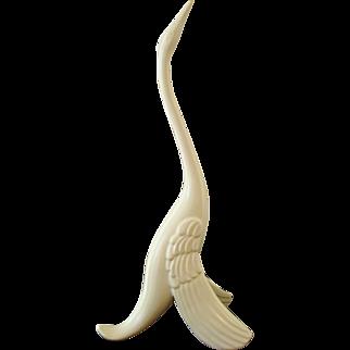 Mid- Century Modern Ceramic Bird Figurine