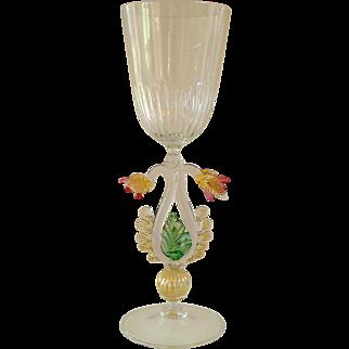 F. Tosi Signed Murano Vase
