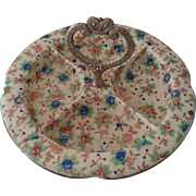 Chintzware Divided Serving Dish