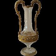 Ormolu Mounted Cut Crystal Vase