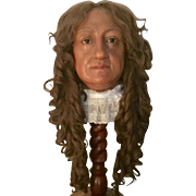 Old English Bust Mannequin Wax Head Madame tussauds Amsterdam